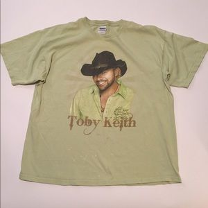 Vintage Toby Keith Biggest & Baddest Tour T-Shirt